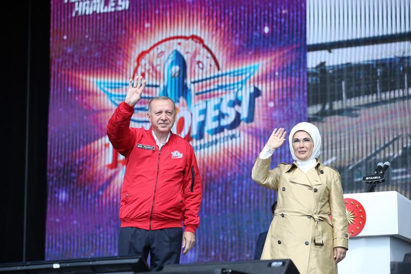 """Cumhurbaşkanı Erdoğan,""""Teknolojik dönüşüm sürecinde yeni teknolojilerin pazarı değil, üreticisi olmak istiyoruz"""""""